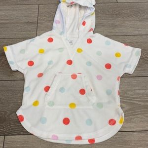 Baby Gap Terrycloth swim cover up 6-12mo